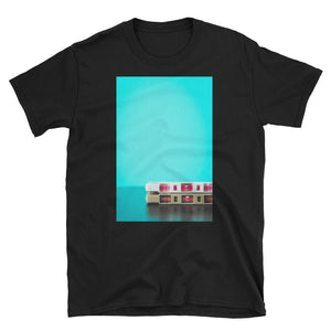 Camiseta Vinyl Lovers - Cassette Blue