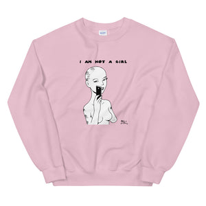 Sudadera comic - Miguel Ángel Martín - I am not a girl