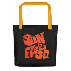 Tote Bag de lona - Sin In The Flesh