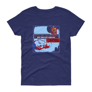 Dan Bern - New American Language - Women's short sleeve t-shirt