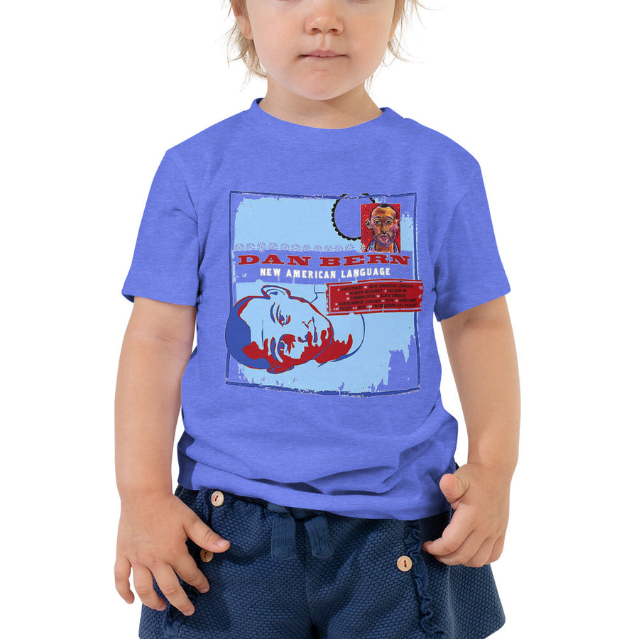 Dan Bern - New American Language - Toddler Short Sleeve Tee