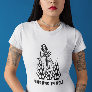 Camiseta Unisex - Burn in Hell