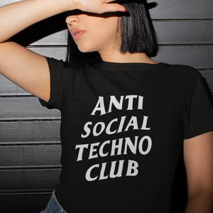 Camiseta Unisex - Anti Social Techno Club