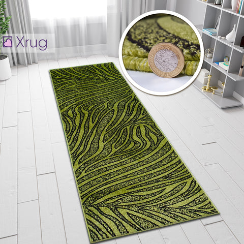 Green Rugs Patterned Modern Design Carpet Rug Living Room Bedroom Small Large Runner