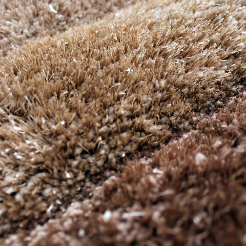 Beige Brown Rug Modern Geometric Shaggy Carpet with Hand Tufted Pattern Soft Deep Long High Pile Fluffy Living Room Bedroom Area Lounge Small Large Floor Mat 80x150cm 120x170cm 160x230cm