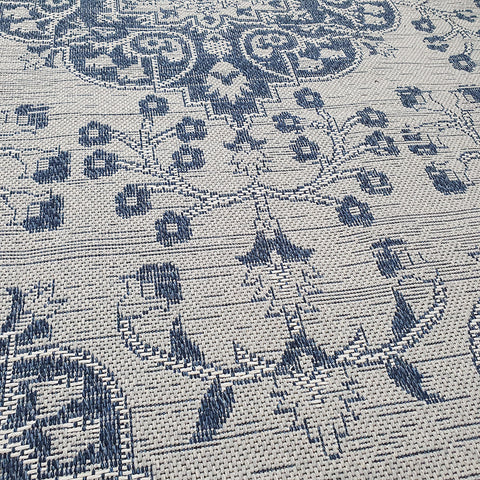 Oriental Rug Grey Blue Carpet Large Small Living Room Bedroom Carpet Woven Mat Runner