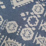 Navy Blue Rug Machine Washable Cotton Carpet Living Room Bedroom Runner Mat