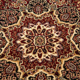 Traditional Rugs Red Beige Oriental Pattern Mat Small Extra Large Room Floor Mat
