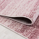 Pink Rug New Modern Living Room Carpet Small X Large Woven Short Pile Area Mats