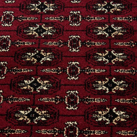 Red Oriental Rug Thick Soft Woven Traditional Carpet Extra Large Small Living Room Bedroom Mat