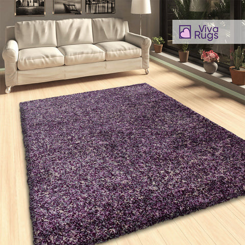 Purple Grey Beige Rug Mottled Deep Pile Living Room Bedroom Shaggy Mottled Fluffy Rugs for Living Room Bedroom Extra Large Small Runners