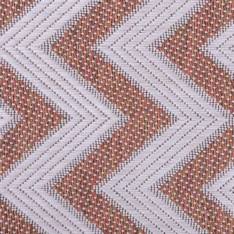 Orange Kitchen Rug Flat Weave Rugs Chevron Hard Wearing Mat Small Large Runners