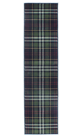 Tartan Rug Glen Kilry Rugs Black Carpet Check Living Room Bedroom Hallway Mats