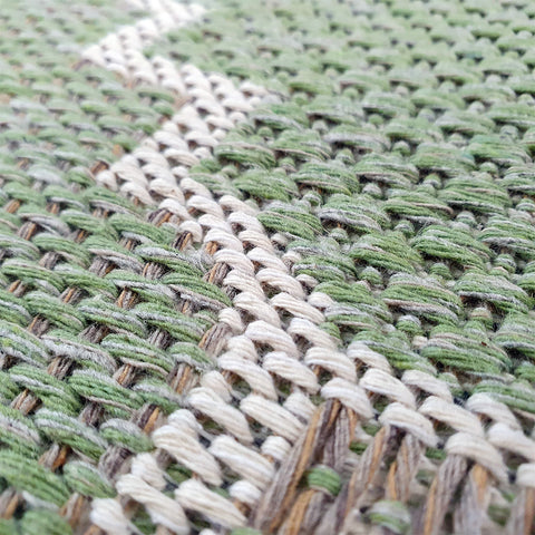 Green Cotton Rug Trellis 100% Cotton Small Extra Large Rug Runner Washable Flat Weave Living Room Bedroom Carpet Woven Mat