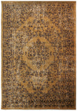 Traditional Rug Taupe Oriental Pattern Floor Carpet Small Large Floral Room Mats