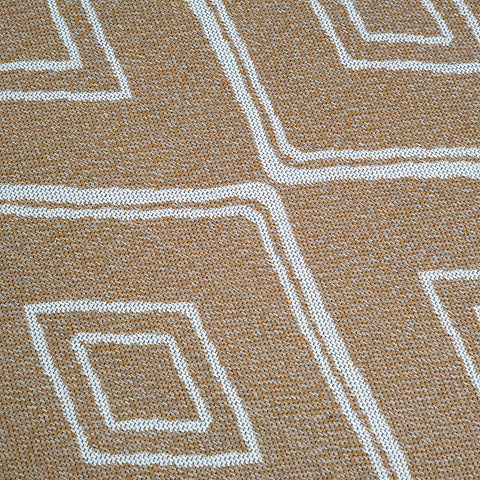 Yellow Cotton Rug Small Extra Large Diamond Mustard Runner Woven Carpet Living Room Bedroom Mat
