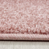 Blush Pink Rug Modern Plain Pattern Carpet Polypropylene PP Friese Bedroom Area Mat Small Extra Large Runner Round Hall Mat Living Room Lounge Woven Short Pile Contemporary Floor New 60x100 80x150 80x250 120x170 140x200 160x230 200x290 280x370 240x340 120x120 160x160 200x200