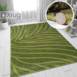 Green Rugs Patterned Modern Design Carpet Rug Living Room Bedroom Large 160x220