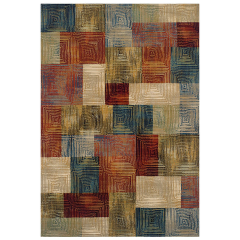 Geometric Rug Colorful Check Geometric Patterned Rugs for Living Room Bedroom Large Small Runner
