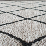 Silver Grey Black Rug Jute Look Flat Weave Hard Wearing Woven Carpet Modern Berber Pattern Small Large Hall Runner 60x230 80x150 80x250 120x170 160x230