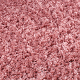 Fluffy Rug Large Small Runner Rug Plain Shaggy Pink Bedroom Living Room Area Mat
