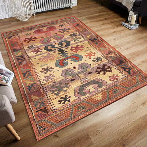 Classic Patern Carpets Oriental Rugs Large Small Brown Beige Living Room Bedroom
