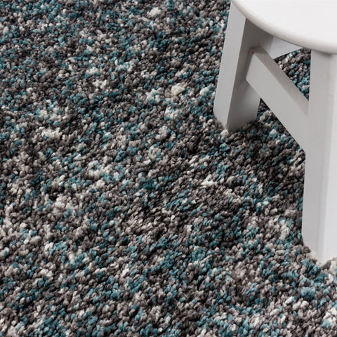 Grey Blue Rug Modern Shaggy Carpet Soft Deep Long High Pile Fluffy Runner Living Room Bedroom Area Lounge Small X Large Runner Hallway Floor Mat