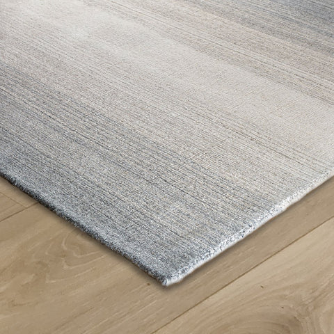 100% Wool Rug for Living Room Handwoven Bedroom Grey Cream 100% Wool Natual Carpet Mat