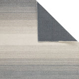 Wool Rug for Living Room Bedroom Grey Cream Hand woven 100% Wool Natual Carpet Mat