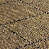 Kitchen Rug Brown Carpet Non Slip Mat Large Small Hard Wearing Woven Rugs