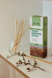 All Natural Wheat Drinking Straw - Gluten Free [500 count available now]