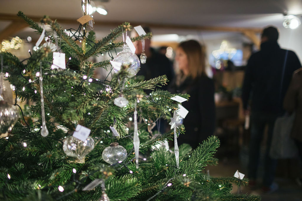 A Christmas Tree - inside our plant centre