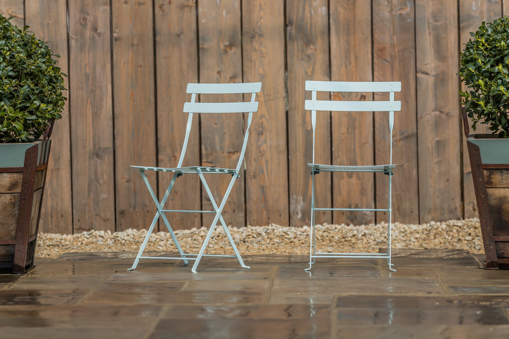 Bistro Folding Chair Ice Mint