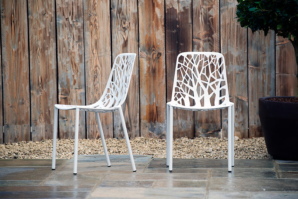 Montpellier Chair Powder Grey - Rosara Outdoor Style