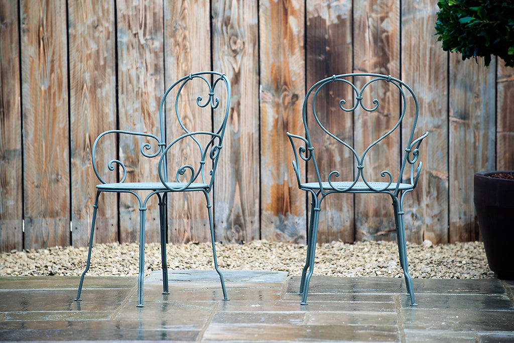 1900 Stacking Armchair Rosemary - Rosara Outdoor Style