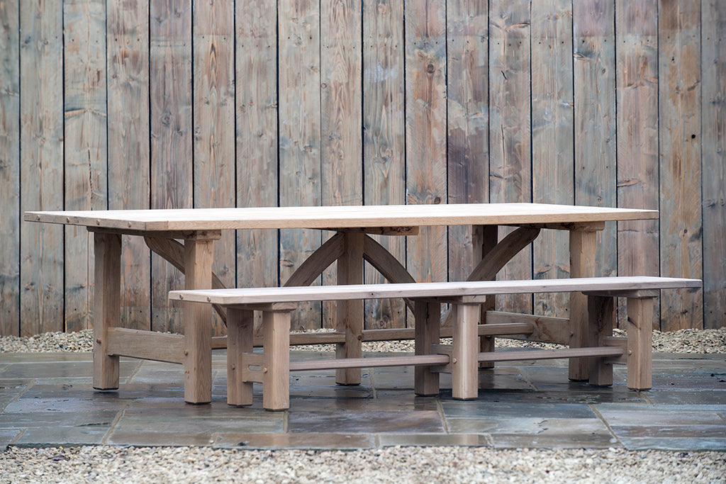 Charlbury Oak Table - Rosara Outdoor Style