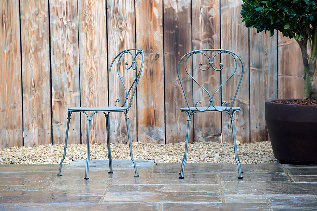 1900 Stacking Chair Rosemary - Rosara Outdoor Style