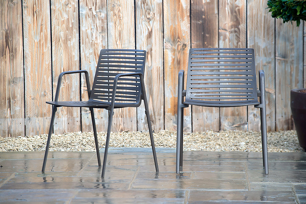 Verona Armchair Dark Brown - Rosara Outdoor Style