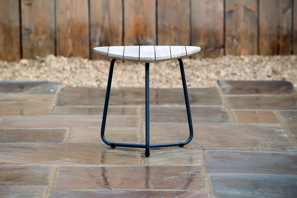 Axel Triangle Coffee Table 45cm - Rosara Outdoor Style