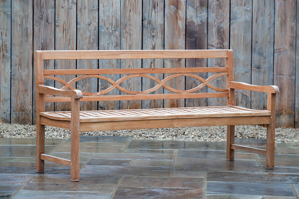 Curved Backed Bench - Rosara Outdoor Style