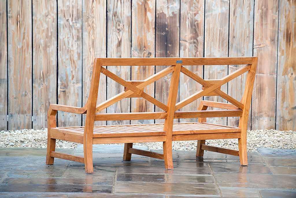 Bruern 2 Seater Bench - Rosara Outdoor Style