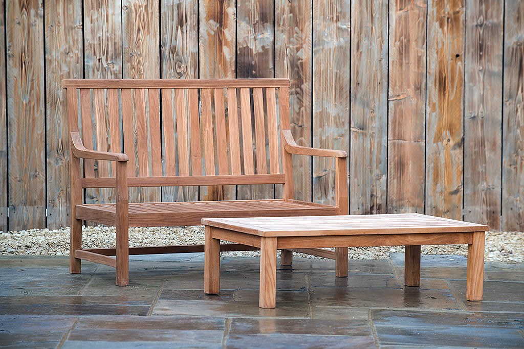 Henley 2 Seater Bench - Rosara Outdoor Style