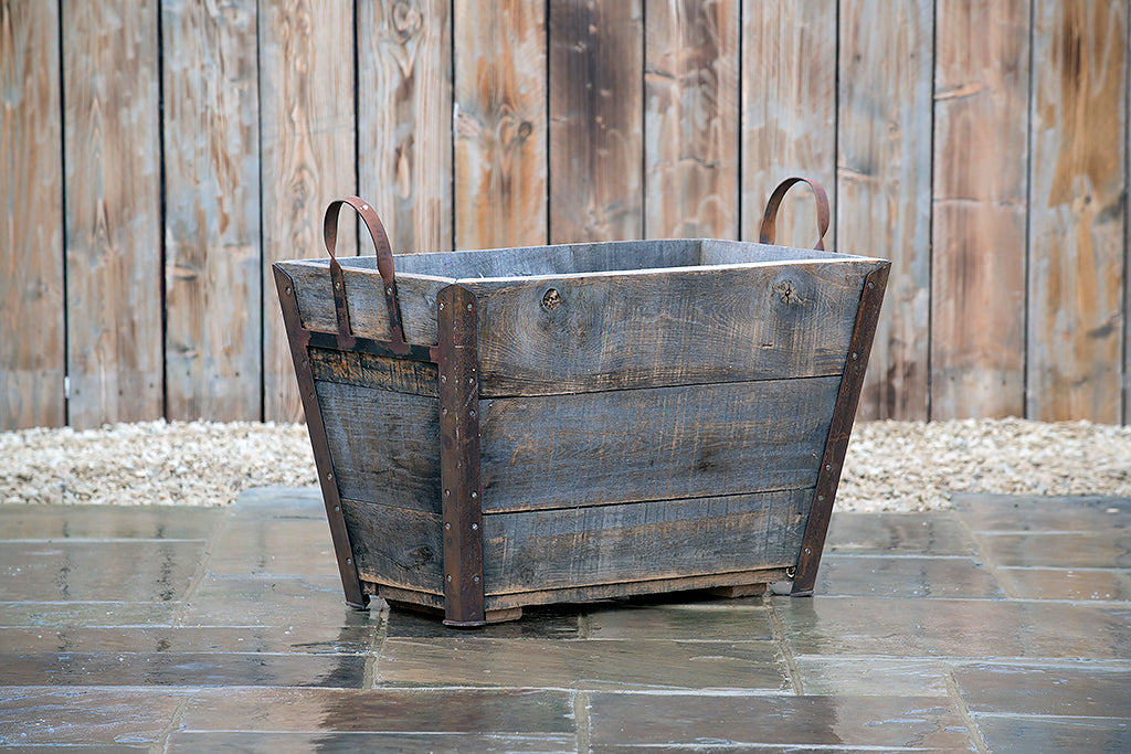Planter - Large Champagne Crate - Rosara Outdoor Style