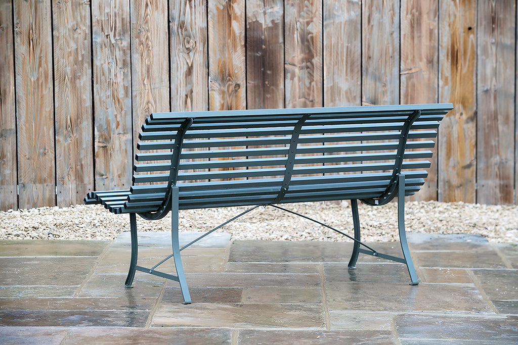 Louisiane Bench Rosemary 1.5m - Rosara Outdoor Style
