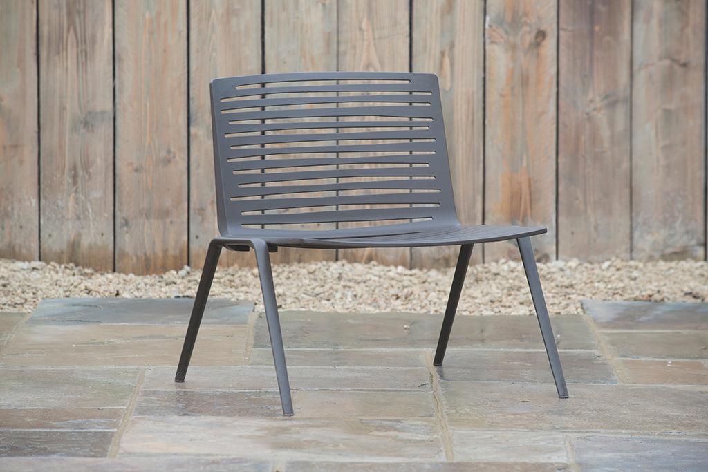 Verona Lounge Armchair Dark Brown - Rosara Outdoor Style