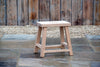 Charlbury Oak Stool - Rosara Outdoor Style
