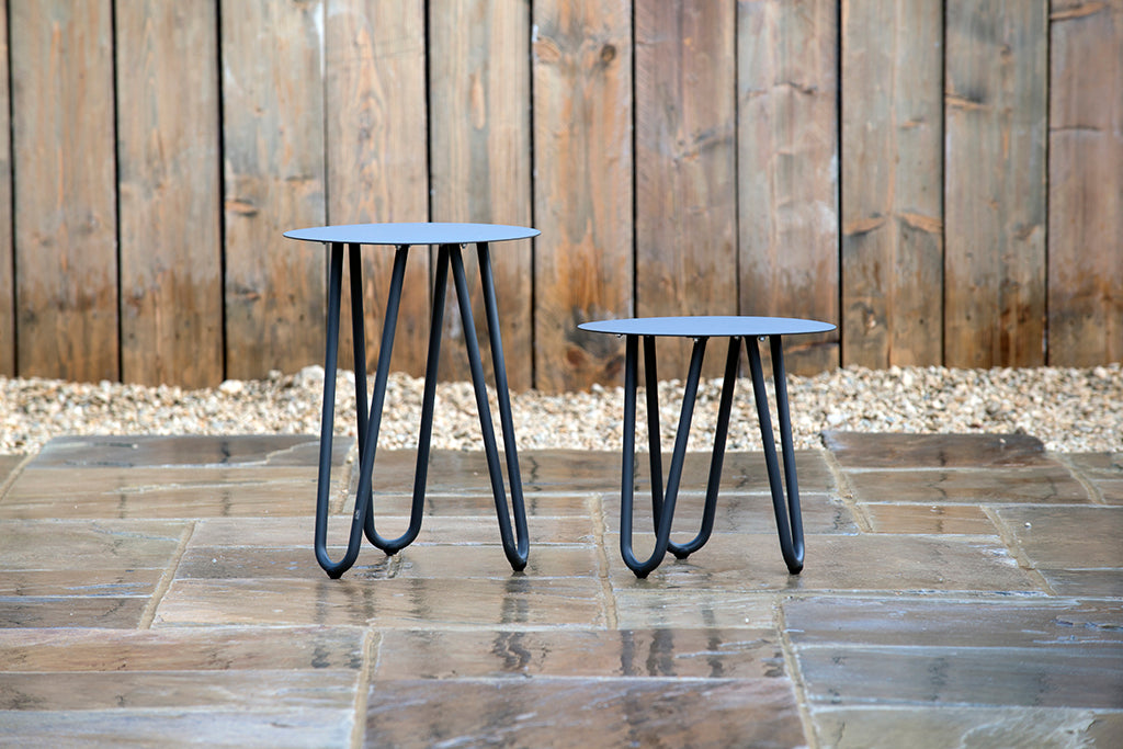 Cool Side Table Anthracite 42cm x 40cm - Rosara Outdoor Style