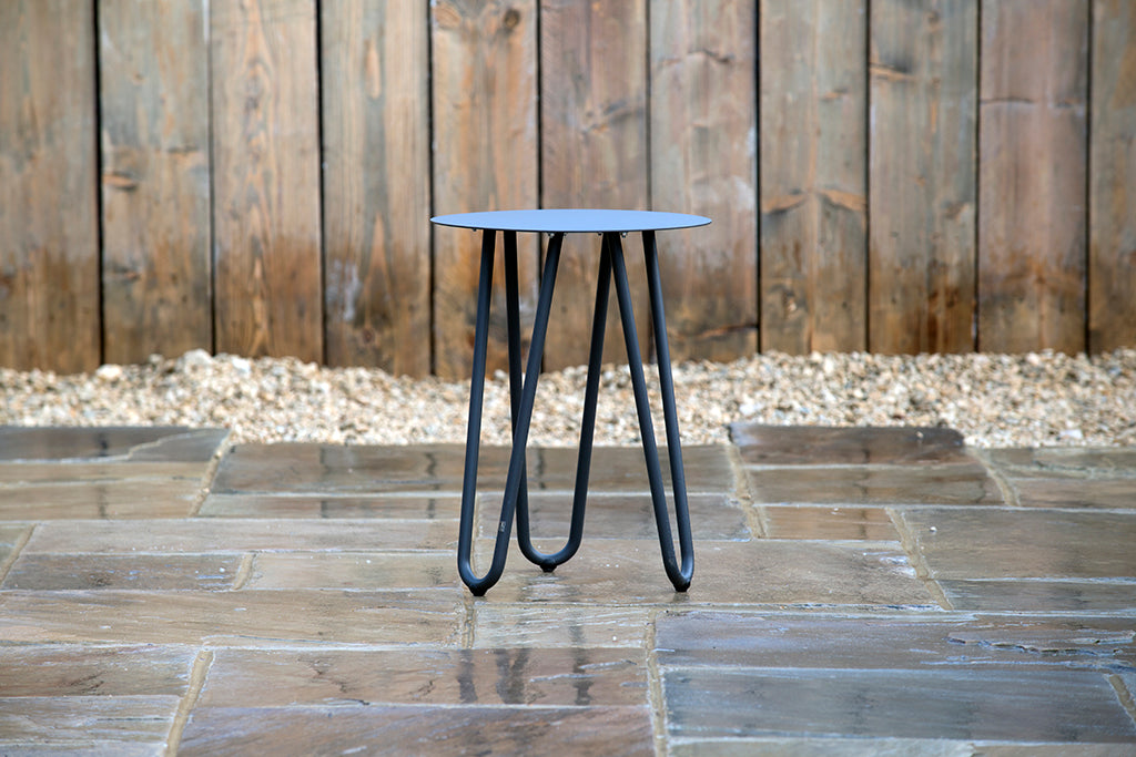 Cool Side Table Anthracite 42cm x 55cm - Rosara Outdoor Style
