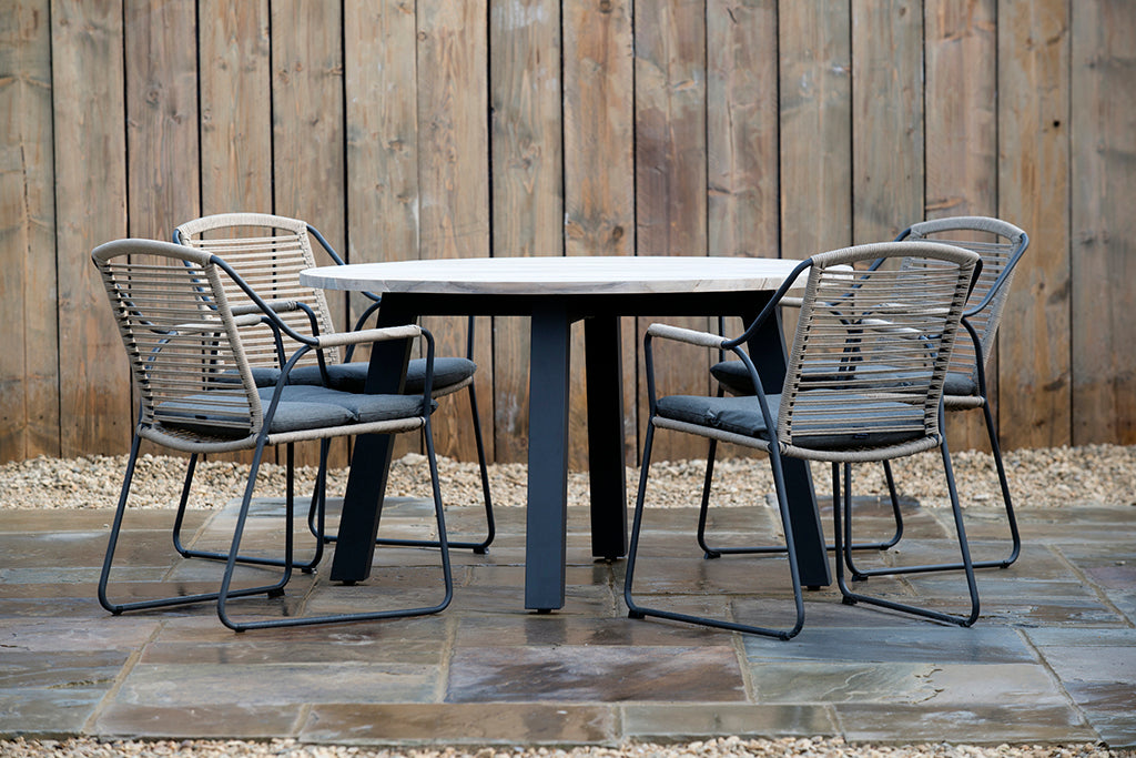 Scandi Dining Chair - Rosara Outdoor Style