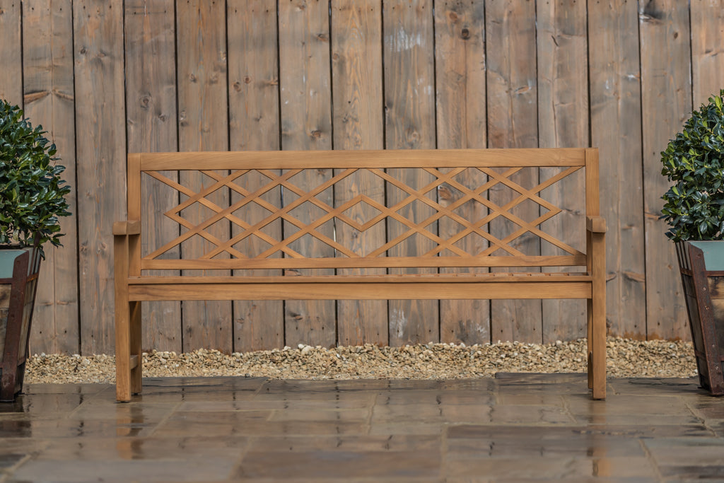Cross Backed Bench